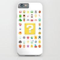 Power Ups! iPhone 6 Slim Case