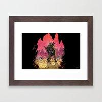 WonderCraft - Guest Artist: JunkBoy Framed Art Print