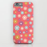 Butterfly Garden - Daisies iPhone 6 Slim Case