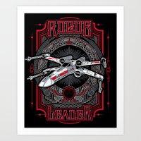 Rogue Leader Art Print