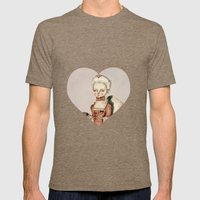 Marie Antoinette Mens Fitted Tee Tri-Coffee SMALL