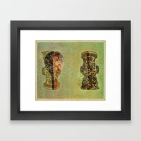 Urns Framed Art Print
