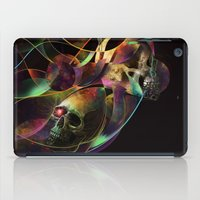 Vivid Skulls of Life iPad Case