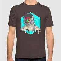 Psychonaut - Light Mens Fitted Tee Brown SMALL