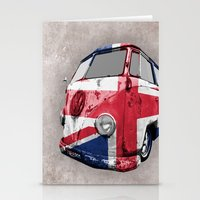 VW UK Flag Stationery Cards