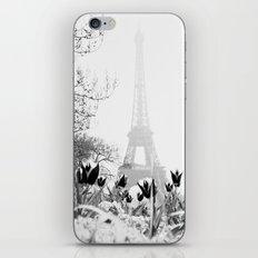 Paris Black & White iPhone & iPod Skin