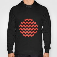 Red Chevron Hoody