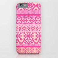 Tribal Pattern - Pink iPhone 6 Slim Case