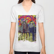 flower power Unisex V-Neck