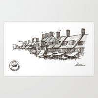 Watling Avenue, Burnt Oa… Art Print