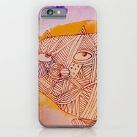 iPhone & iPod Case featuring sophistiCATed  by Marianna Tankelevich
