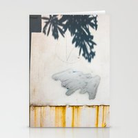 Shadow, cloud and rotten horizon Stationery Cards