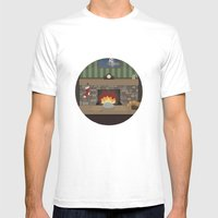 Game Name #2 Mens Fitted Tee White SMALL
