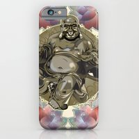 iPhone & iPod Case featuring Laughing Buddha by Addington Blythe/Legion XXI