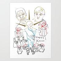 Atheist Christmas Art Print
