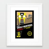 Super Vault Hunters Framed Art Print