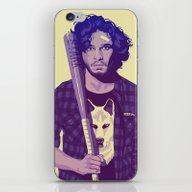 iPhone & iPod Skin featuring GAME OF THRONES 80/90s E… by Mike Wrobel