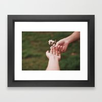 Our Spring II Framed Art Print