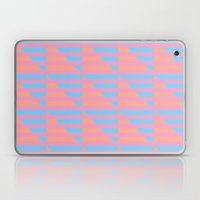 Pink Blue Peach Houndsto… Laptop & iPad Skin