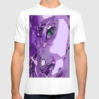 Model Geisha Mens Fitted Tee White SMALL