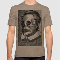 Mr Bones II Mens Fitted Tee Tri-Coffee SMALL