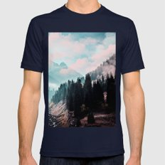 The Juxtaposed Creation #society6 #decor #buyart Mens Fitted Tee Navy SMALL