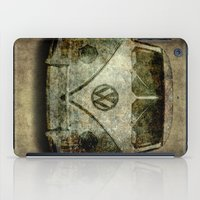 Classic VW  micro bus with battle scars and a distressed patina iPad Case