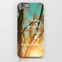 iPhone & iPod Case featuring Shine Bright Like the Sunshine by Marisa Nourbese Photos