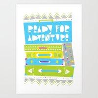 Ready For Adventure Art Print