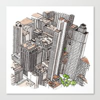 New York View Canvas Print