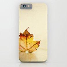 Maple grunge iPhone 6 Slim Case