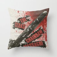 Texas Chainsaw Massacre Throw Pillow