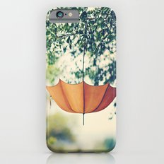 Orange Umbrella  iPhone 6 Slim Case