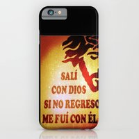 Sali con Dios iPhone 6 Slim Case