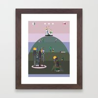 Bellflower Of The Northe… Framed Art Print