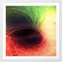Tunnel Vision Distortion Art Print