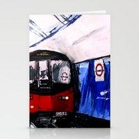London Underground Northern Line Fine Art Stationery Cards