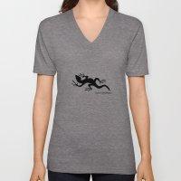 Lizard Unisex V-Neck