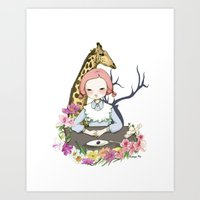 Jenny Eat Breakfast Art Print