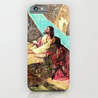 iPhone & iPod Case featuring double jesus by the art of dang