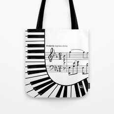 Piano keys I Tote Bag