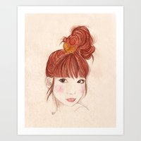 Tokyo Girl Art Print