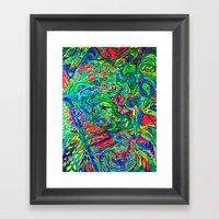 DMT JUNGLE Framed Art Print