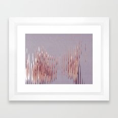 Peach River Framed Art Print