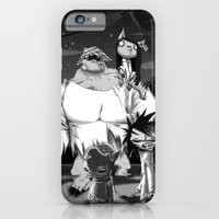 iPhone & iPod Case featuring Zombikats by Gate's Labofakto