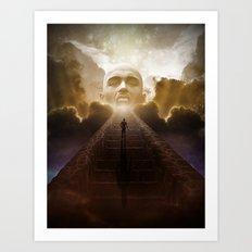Entering Oblivion (Reprise) Art Print