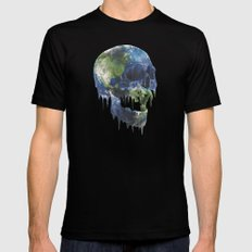 mothers dying Mens Fitted Tee Black SMALL