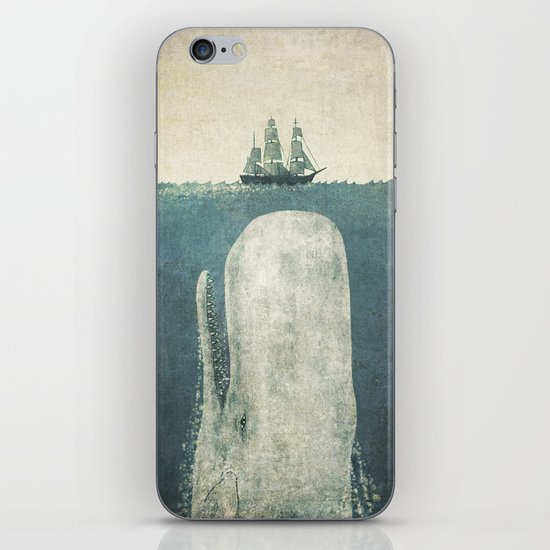 The White Whale iPhone & iPod Skin