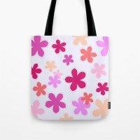 Anohana Flowers Tote Bag