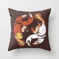 Super Yin Yang Throw Pillow